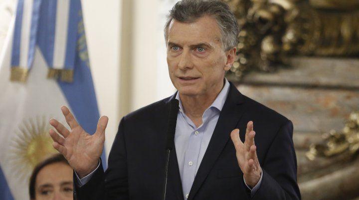 Macri: Los voceros del odio son amenazadores y ruidosos, pero escasos