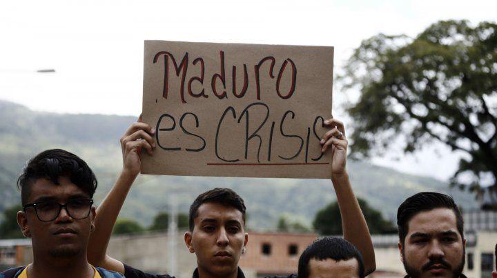 Hartazgo. Maduro es crisis
