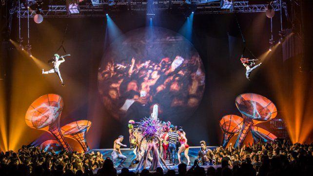 Nuevas funciones para Sép7imo Día del Cirque du Soleil