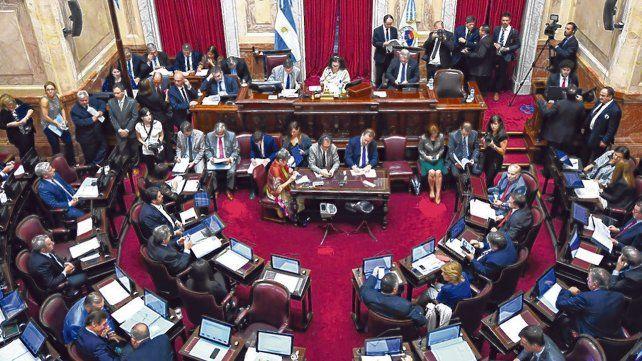 Cuenta regresiva. La Cámara de Senadores ingresa en la recta final de cara a la votación del 8 de agosto.
