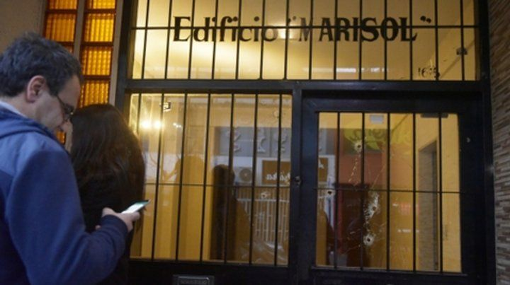 La última. El más reciente de los ataques registrados fue contra un edificio vinculado con la jueza Usandizaga.