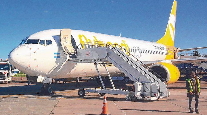 La aerolínea de bajo costo Flybondi se alista para comenzar a operar en el aeropuerto Islas Malvinas.