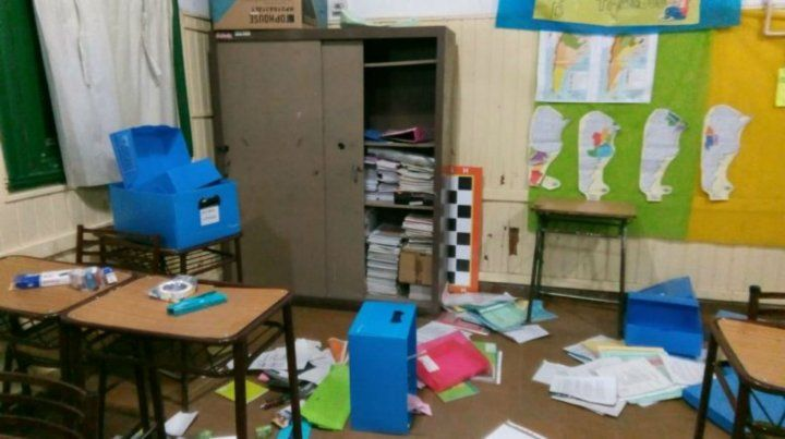 Robo y vandalismo en dos escuelas de la ciudad de Roldán