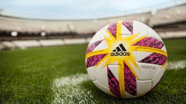 La pelota oficial con la que se disputará la Superliga.