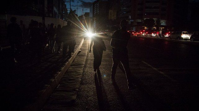 Apagones generan caos en Caracas