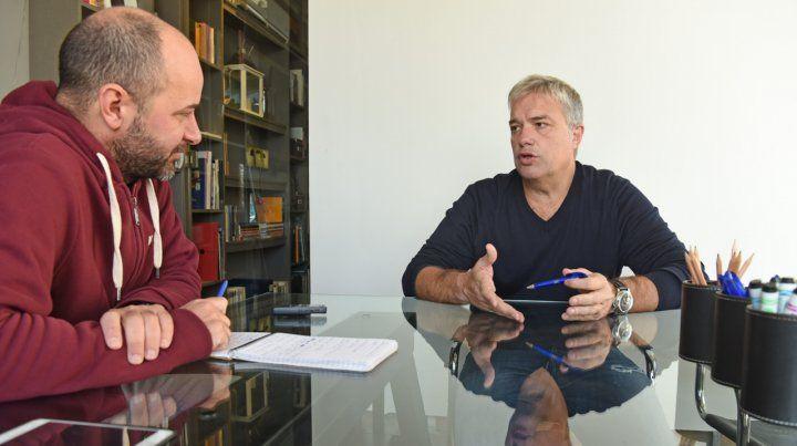 Pedro Aldave: Me crié en Newells y sé los jugadores que le gustan a la gente