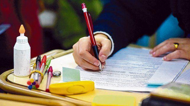 Más caros. Las cuotas se actualizan de acuerdo a los aumentos salariales docentes.