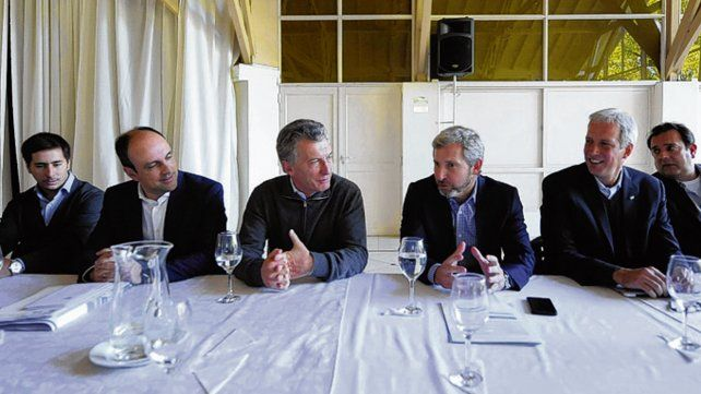 Diálogo. Macri y Frigerio