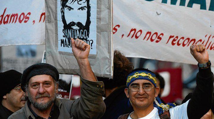 La plaza San Martín se llenó de manifestantes que pidieron justicia Santiago Maldonado.