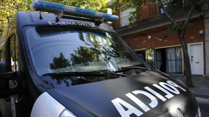 La Policía de Investigación realizó un allanamiento en Villa Gobernador Gálvez.