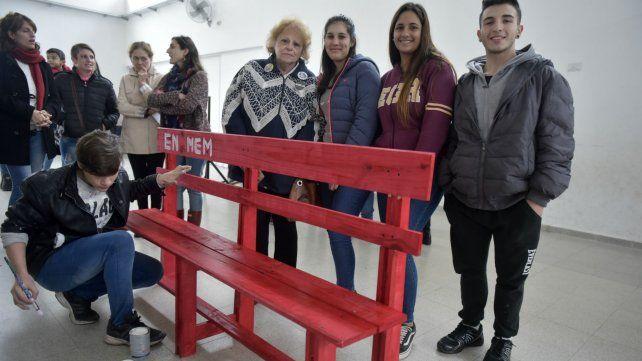 Beatriz Regal, Florencia Arévalo, Agustina Altamirano y Nicolás Benítez.