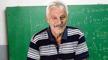 El profesor Juan Farina.