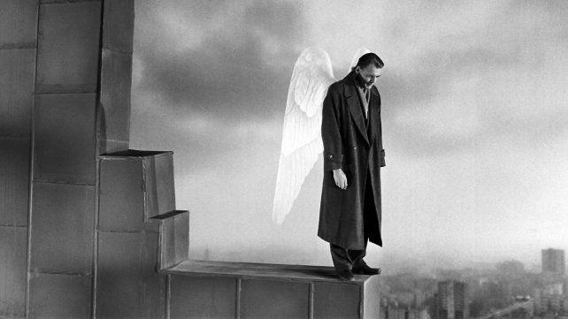 Bruno Ganz en Las alas del deseo.