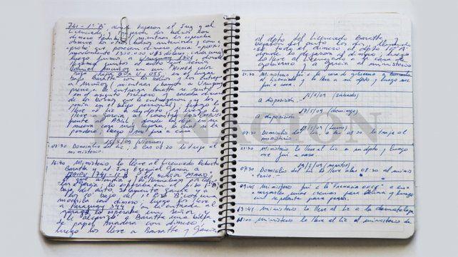 La Justicia busca los cuadernos originales.