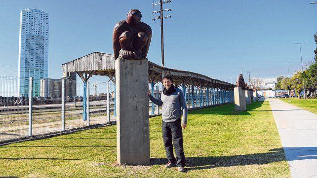 El escultor que revive a los árboles