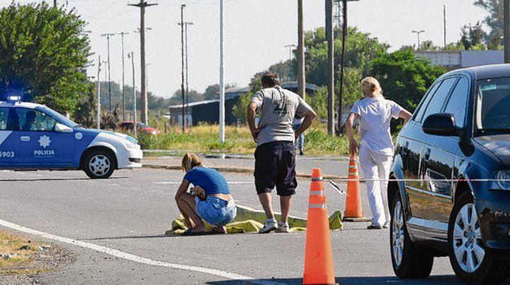 En la ruta. Bam Bam Funes fue atacado cuando salía de la cárcel de Piñero.