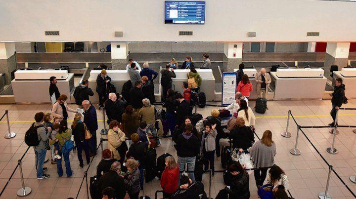Demanda. Cada vez más pasajeros llegan y vuelan desde Rosario.