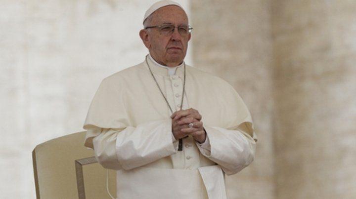 Avance. El Papa fue felicitado por la comunidad San Egidio