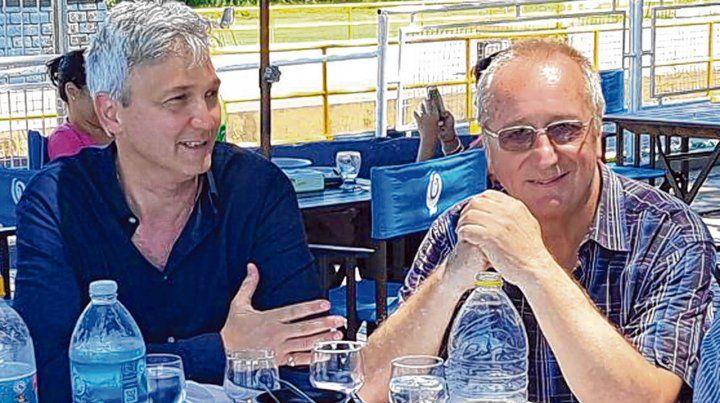 Otros tiempos. Carloni y Broglia