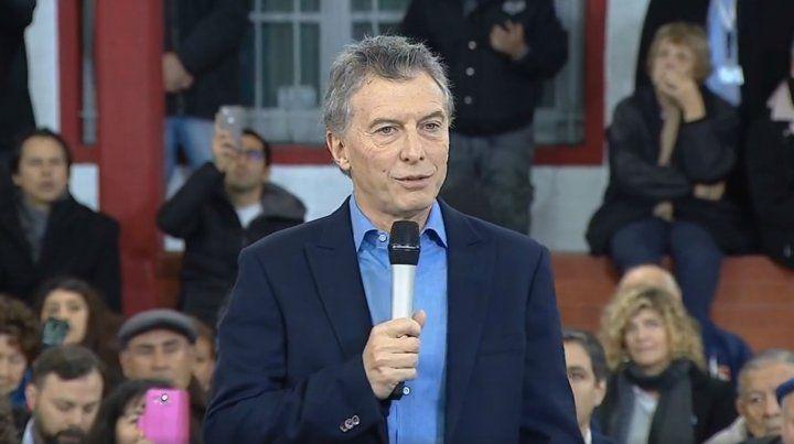 Macri: Hay que recuperar la guita que nos afanaron