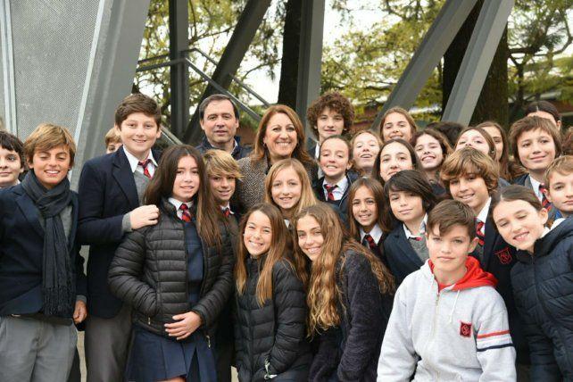 La intendenta Mónica Fein participó hoy del acto de inauguracióndel nuevo tramo de Av Wilde