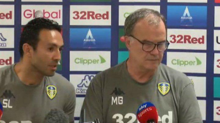 Bielsa debuta en el Leeds United y no se olvidó de Newells