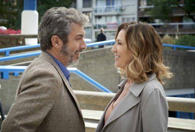 Los actores Ricardo Darín y Mercedes Morán.