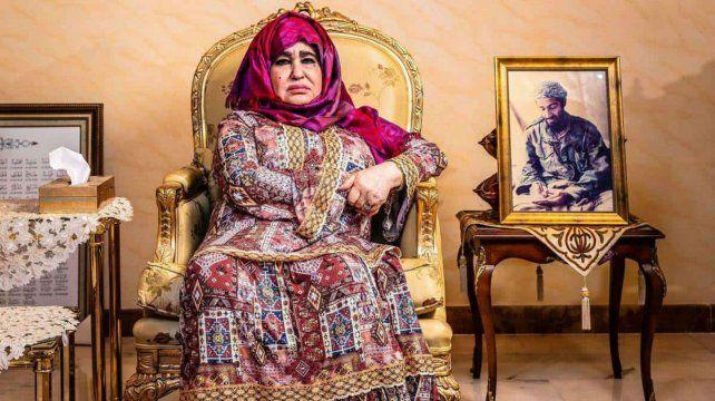 La madre de Osama concedió una nota al diario The Guardian en su mansión en Jeddah
