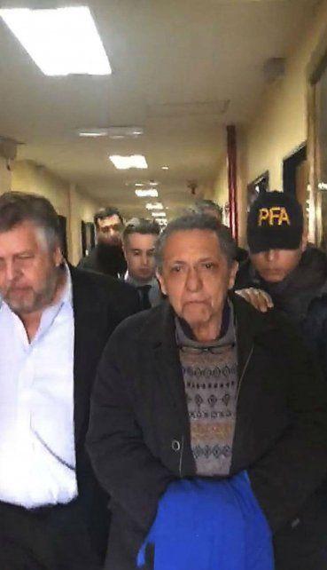 En tribunales. Oscar Centeno podrá tener beneficios en una futura condena como testigo arrepentido.