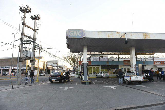 La estación de Uriburu y Vuelta de Obligado donde ocurrió el homicidio la tarde del pasado 17 de junio.