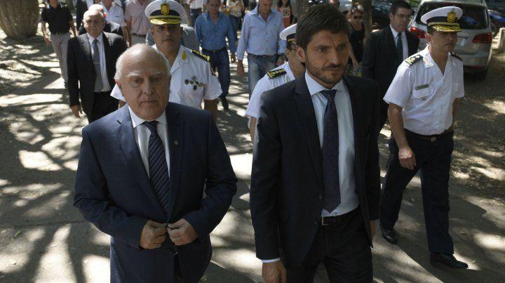 El gobernador y su ministro de Seguridad
