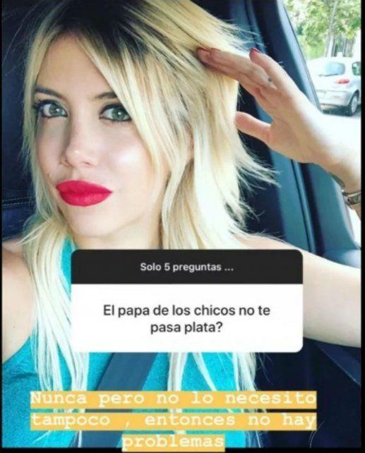 La ironía de Maxi López para responderle a Wanda Nara