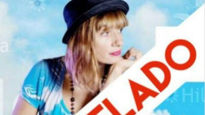 Hilda Lizarazu canceló su show de esta noche en McNamara