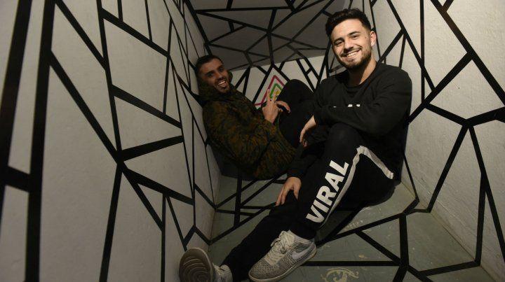 Conectados. Javi Ayul y Fabri Lemus aseguran que adoran el amor de sus fans.