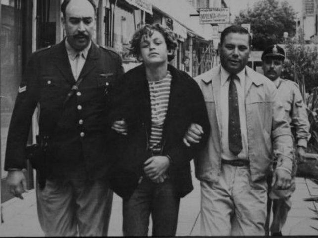 El real. Robledo Puch cuando cayó preso en 1972. Tenía sólo 20 años.