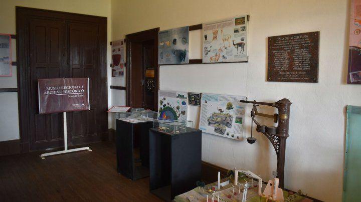 Patrimonio. El museo atesora elementos de la historia del pueblo.