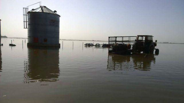 Emergencia. La obra proyectada busca proteger una zona que fue castigada por las lluvias.