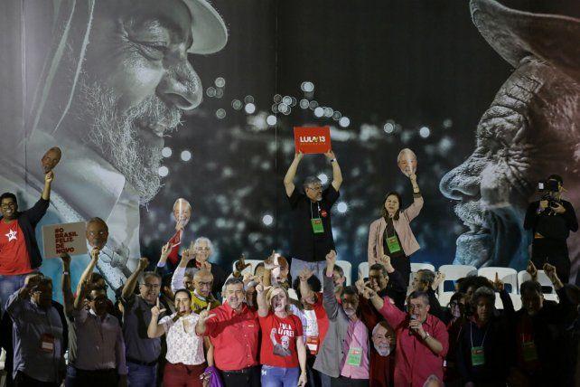 El PT oficializa la candidatura de Lula