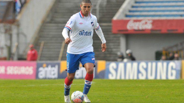 El apuntado. Arismendi juega en Nacional y desde Central ya se contactaron.