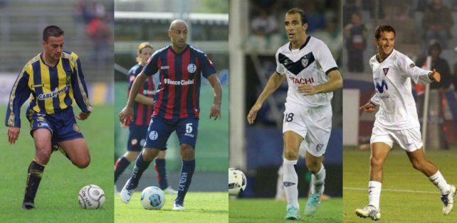 En Central. Daniel Quinteros. En San Lorenzo. El Pichi Mercier. En Vélez. Leandro Somoza. En Liga de Quito. Patricio Urrutia.