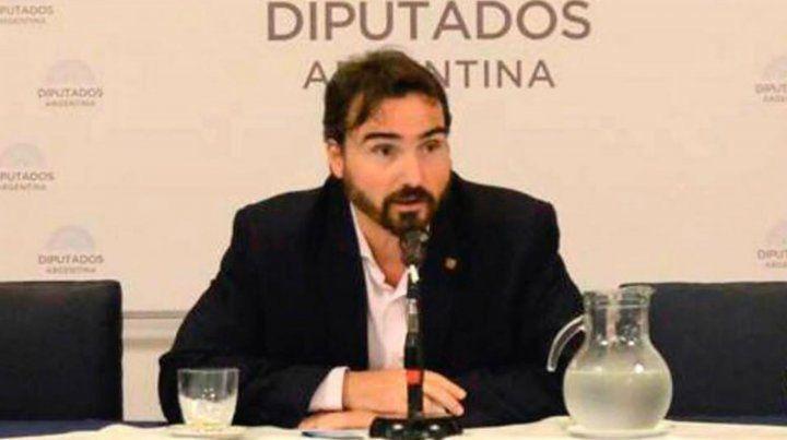 El diputado nacional Lucas Incicco.