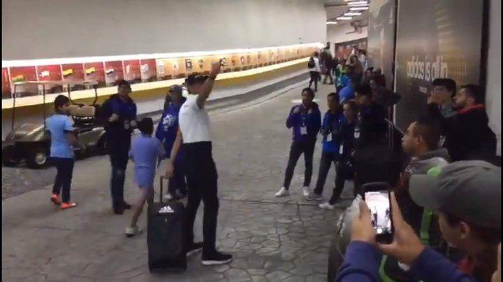 El Patón Guzmán insultó a un entrenador tras la derrota de su equipo