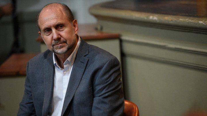 El senador nacional Omar Perotti criticó la decisión del gobierno de eliminar el fondo sojero.