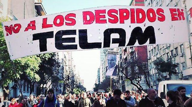 Si Télam ofrece un plan de retiros voluntarios a una  parte de los 357 trabajadores cesanteados
