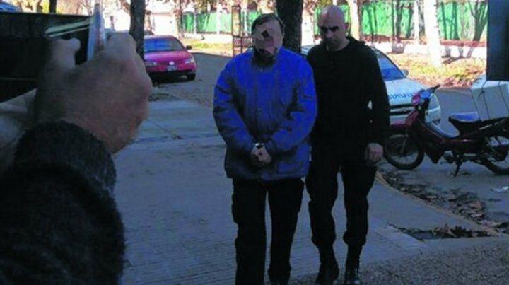 Detenido en julio de 2017. El imputado fue trasladado entonces a la sede judicial de Casilda.