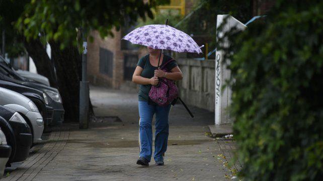 Hoy martes sería aconsejable tener paraguas a manos