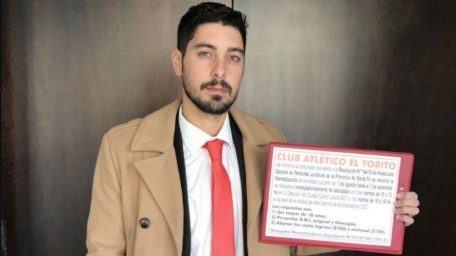 Fernando Varano, abogado de la Agrupación