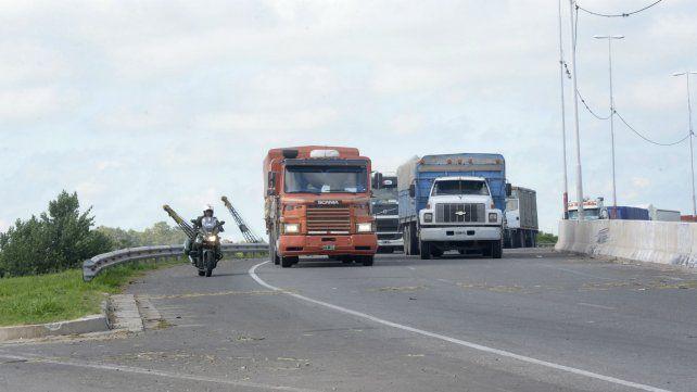 El accidente se produjo sobre avenida de Circunvalación.