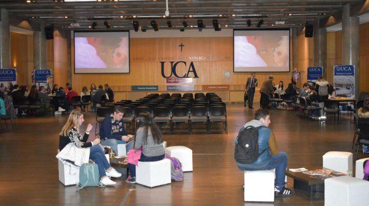 Orientación vocacional en la UCA Rosario