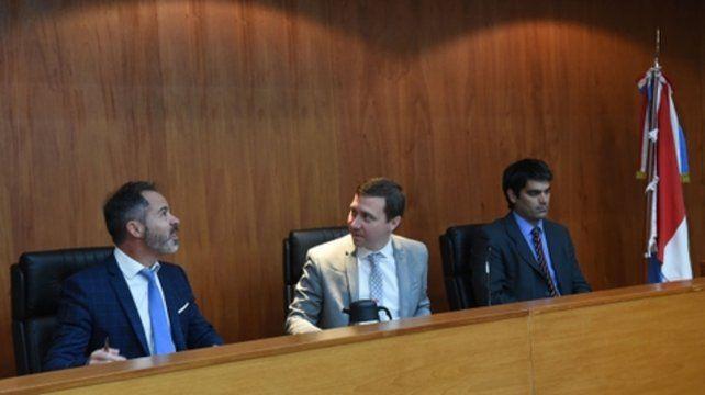 Jueces. El debate se realiza ante el tribunal conformado por Facundo Becerra